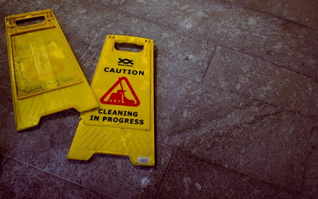 Pericoli pulizie