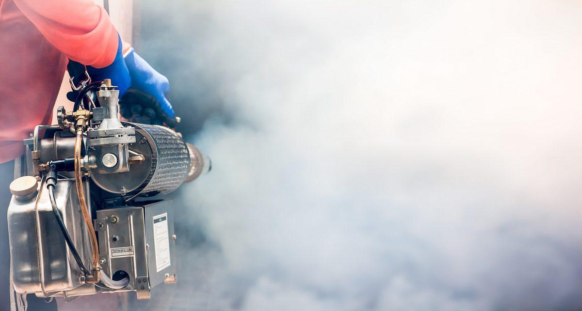 Sanificazione rapida con metodo nebbia secca